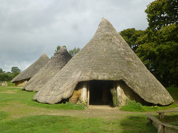 Castell Henllys Huts